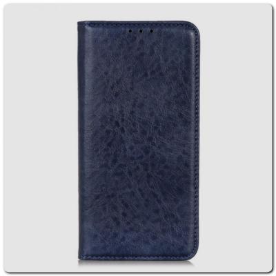 Чехол Книжка с Скрытыми Магнитами Авто Закрытие для Samsung Galaxy A10 Синий