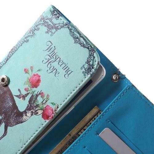 Чехол-футляр для смартфона с орнаментом Deer