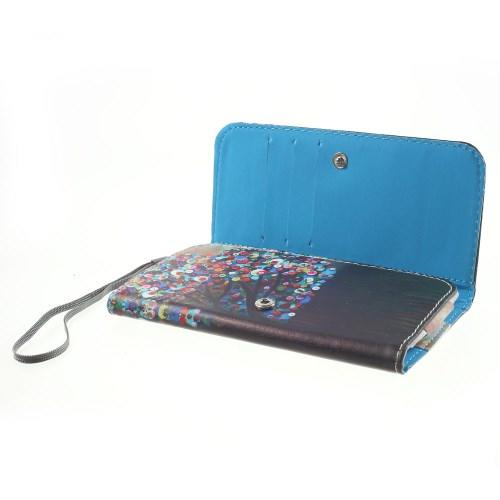Чехол-футляр для смартфона с орнаментом Button Tree