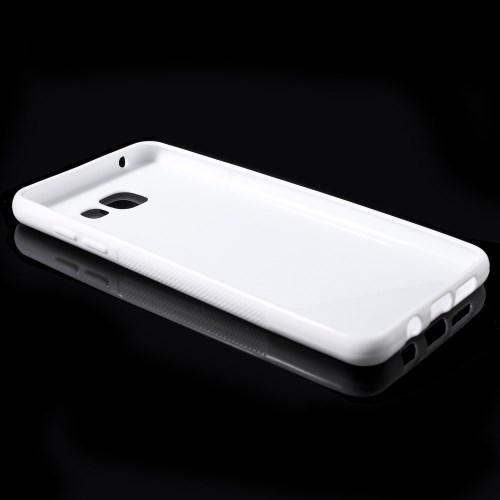 Силиконовый чехол для Samsung Galaxy A5 SM-A510F 2016 белый S-образный