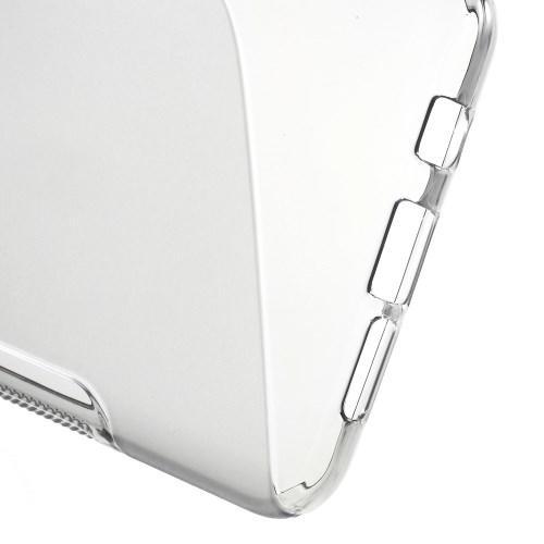 Силиконовый чехол для Samsung Galaxy A5 SM-A510F 2016 серый S-образный