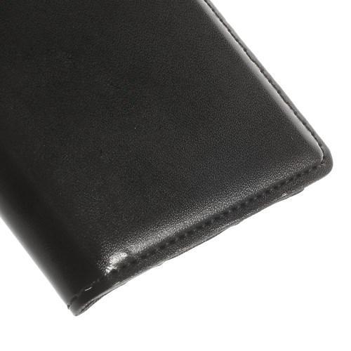 Чехол книжка черный для Samsung Galaxy S5 mini с функцией активное окно