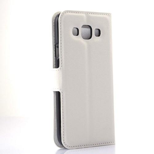 Чехол книжка для Samsung Galaxy E5, Galaxy E5 Duos - Белый