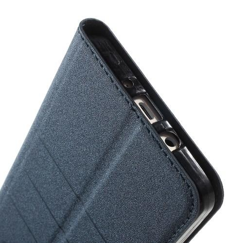 Чехол книжка для Samsung Galaxy S6 edge синий Mercury CaseOn