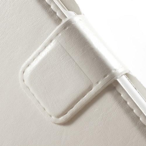 Чехол книжка для Samsung Galaxy J1 белый