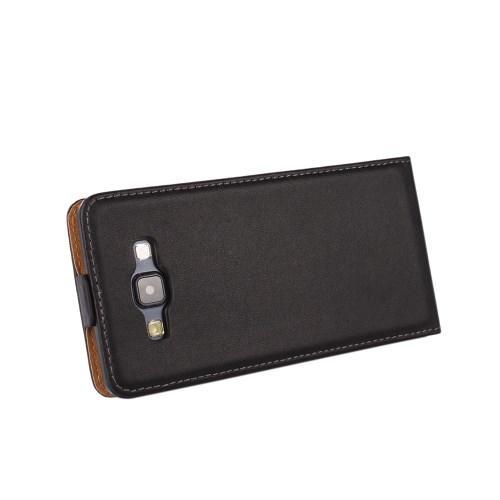 Down Flip чехол для Samsung Galaxy A7, Samsung Galaxy A7 Duos черный