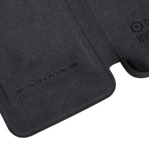 Кожаный чехол книжка для Samsung Galaxy S6 Nillkin Qin - черный
