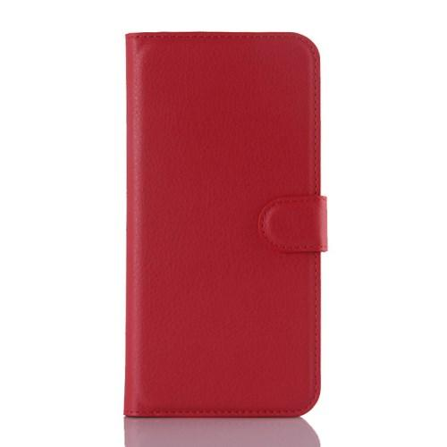 Чехол книжка для Samsung Galaxy A8 красный