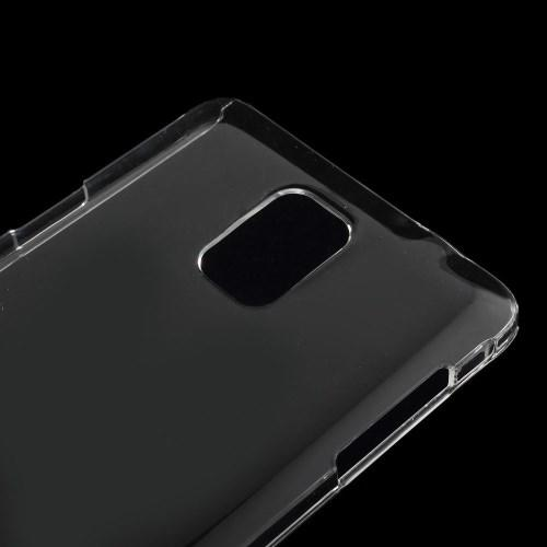 Кейс чехол для Samsung Galaxy Note 4 прозрачный
