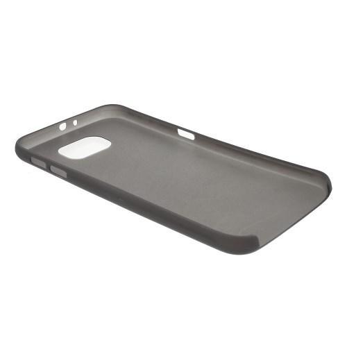 Ультратонкий пластиковый чехол для Samsung Galaxy S6 черный