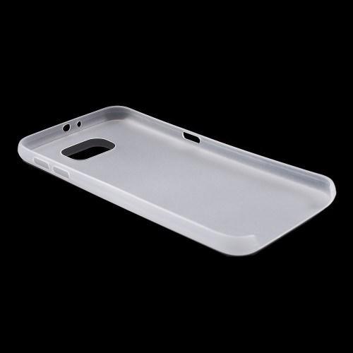 Ультратонкий пластиковый чехол для Samsung Galaxy S6 белый