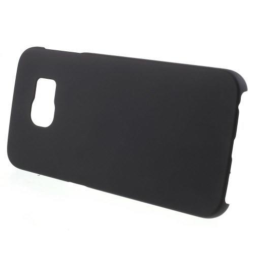 Кейс чехол для Samsung Galaxy S6 edge пластиковый - черный