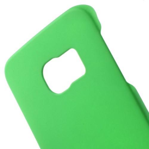 Кейс чехол для Samsung Galaxy S6 edge пластиковый - зеленый
