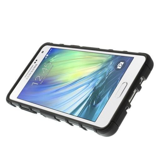 Гибридный противоударный чехол для Samsung Galaxy A5 - черный