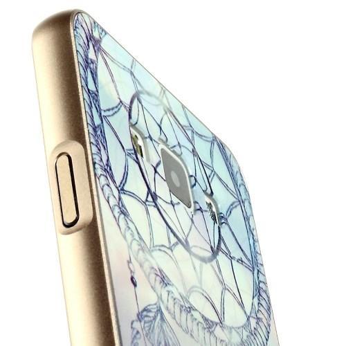 Металлический чехол для Samsung Galaxy A3 с орнаментом Dreamcatcher