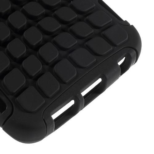 Гибридный противоударный чехол для Samsung Galaxy S6 edge - черный