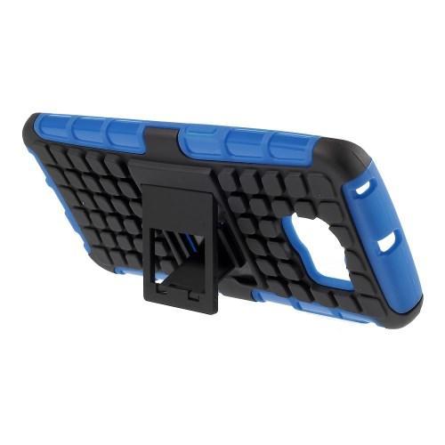 Гибридный противоударный чехол для Samsung Galaxy S6 edge - синий