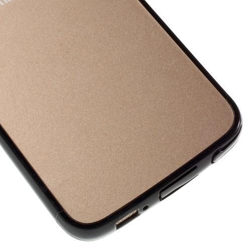 Гибридный чехол для Samsung Galaxy S6 Edge Crystal&Black
