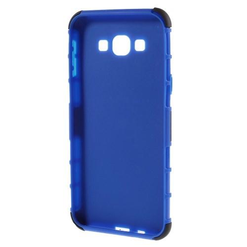 Гибридный противоударный чехол для Samsung Galaxy A8 - синий