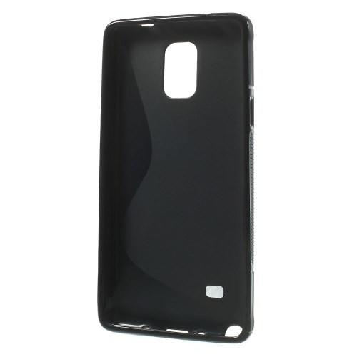 Силиконовый чехол для Samsung Galaxy Note 4 черный