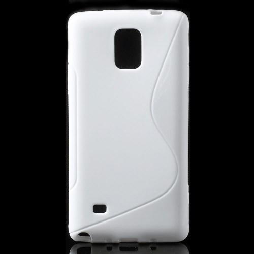 Силиконовый чехол для Samsung Galaxy Note 4 белый
