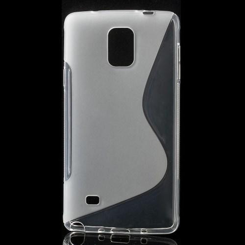 Силиконовый чехол для Samsung Galaxy Note 4 прозрачный