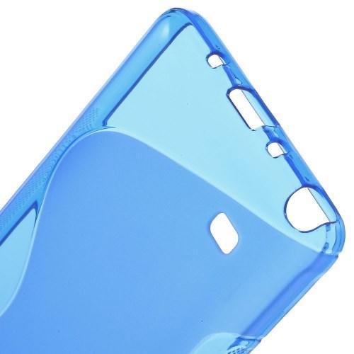 Силиконовый чехол для Samsung Galaxy Note 4 синий
