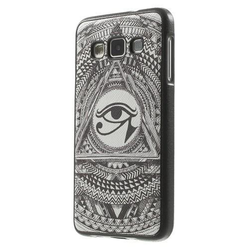 Силиконовый чехол для Samsung Galaxy A3 с орнаментом Всевидящее Око