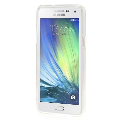 Силиконовый чехол для Samsung Galaxy A5, Galaxy A5 Duos - Mint Flower Pattern