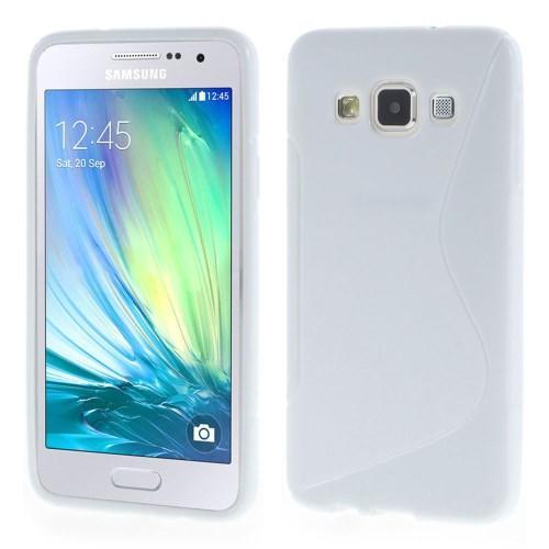 Силиконовый чехол для Samsung Galaxy A3 - белый ToughGuard