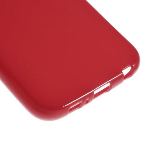 Силиконовый чехол для Samsung Galaxy S6 - красный