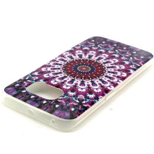 Силиконовый чехол для Samsung Galaxy S6 edge Purple Dream