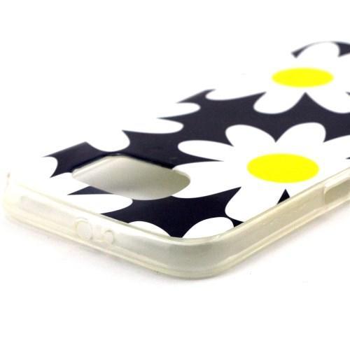 Силиконовый чехол для Samsung Galaxy S6 Ромашка