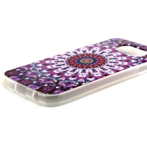 Силиконовый чехол для Samsung Galaxy S6 Purple Dream