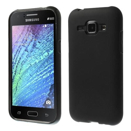 Силиконовый чехол для Samsung Galaxy J1 черный