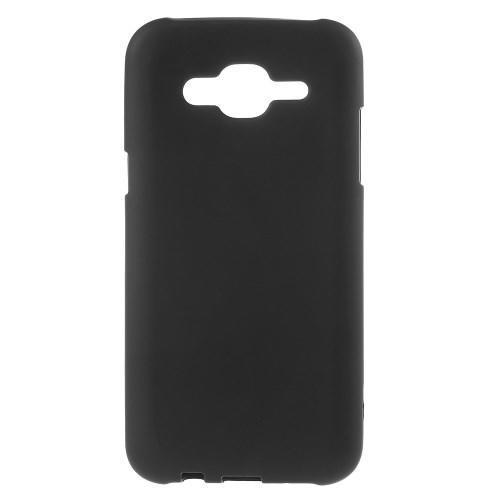 Матовый силиконовый чехол для Samsung Galaxy J5 чёрный