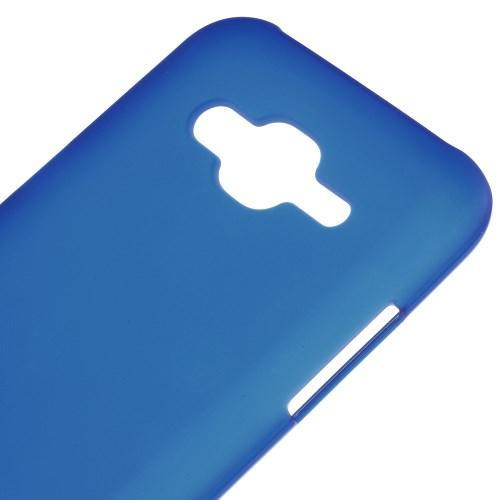 Матовый силиконовый чехол для Samsung Galaxy J5 синий