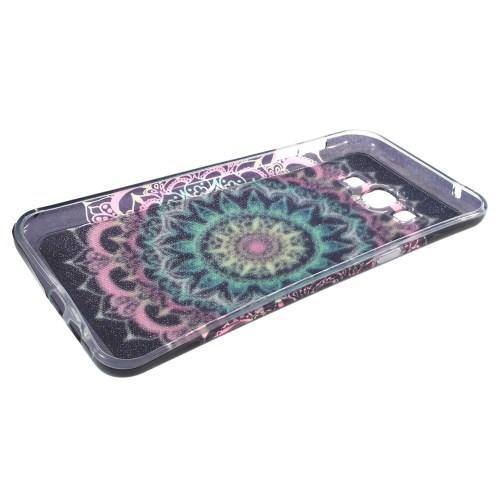 Силиконовый чехол для Samsung Galaxy A8 - Искрящийся Узор