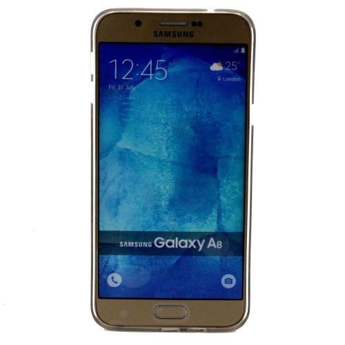 Силиконовый чехол для Samsung Galaxy A8 - Smoky Monkey