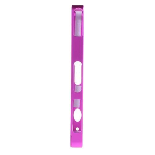 Алюминиевый бампер для Sony Xperia Z1 лиловый