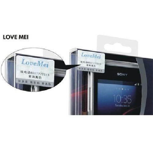 Алюминиевый бампер для Sony Xperia Z1 бронзовый LOVE MEI