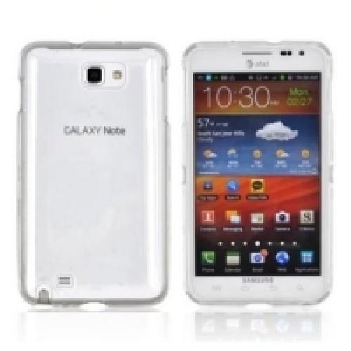 Кейс чехол для Samsung Galaxy Note 2 прозрачный