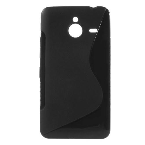 Силиконовый чехол для Microsoft Lumia 640 XL черный