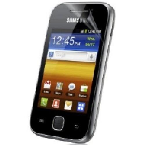 Защитная пленка Samsung Galaxy Y антибликовая глянцевая