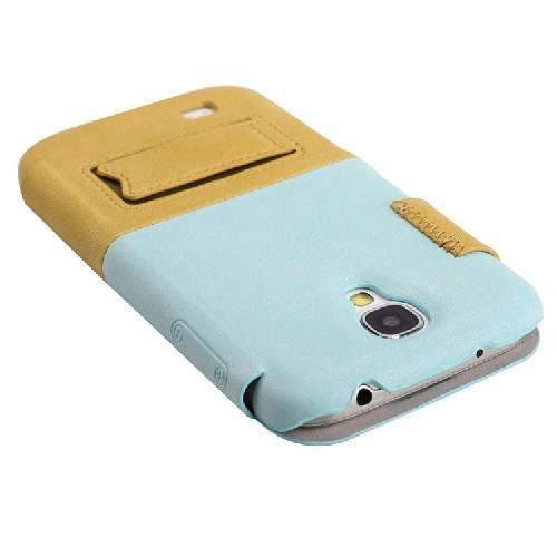 Чехол книжка для Samsung Galaxy S4 BASEUS Blue/Beige
