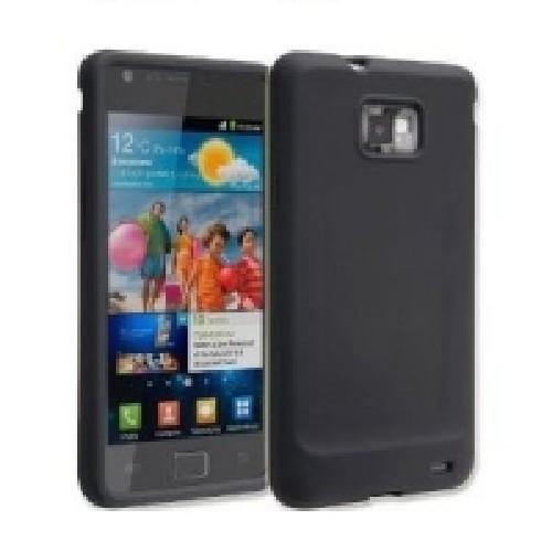 Силиконовый чехол для Samsung Galaxy S 2 черный