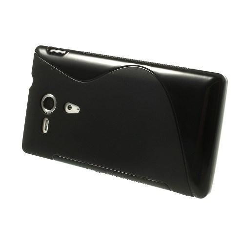 Силиконовый чехол для Sony Xperia SP черный