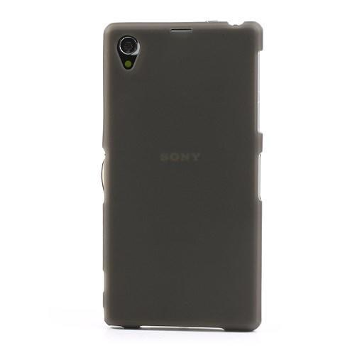 Силиконовый чехол для Sony Xperia Z1 черный матовый