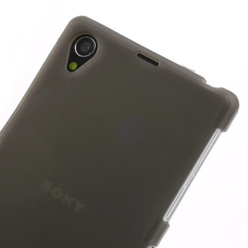 Силиконовый чехол для Sony Xperia Z1 серый
