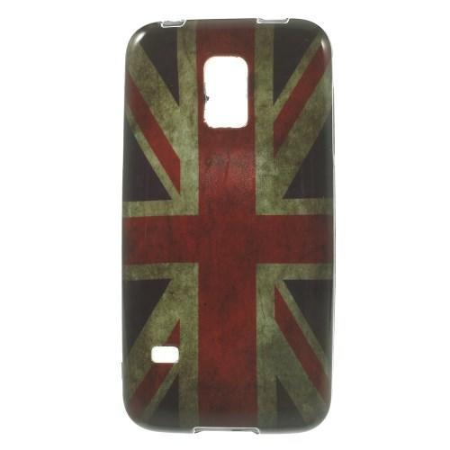 Силиконовый чехол для Samsung Galaxy S5 mini British Flag